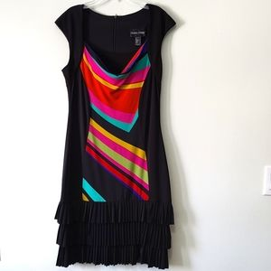 Frank Lyman design pleated dress
